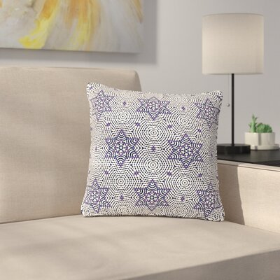 Laura Nicholson Star Power Geometric Outdoor Throw Pillow Size: 16 H x 16 W x 5 D