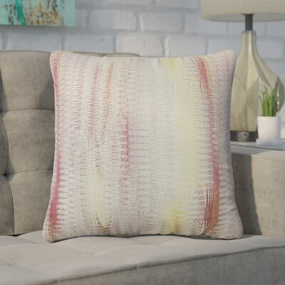 Wimbley Throw Pillow Color: Freesia