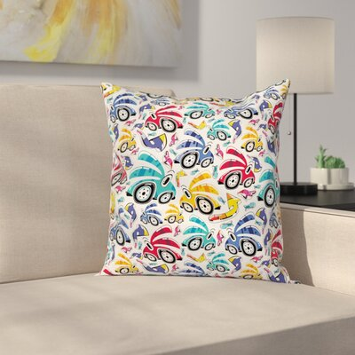 Kids Pillow Cover Size: 16 x 16