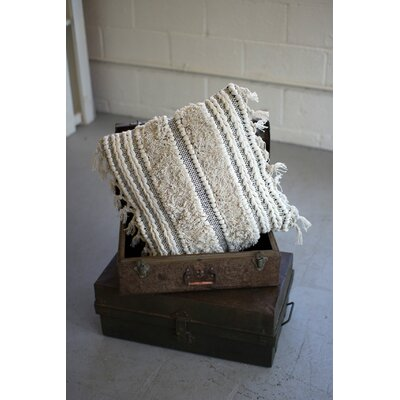Pegues Striped Throw Pillow
