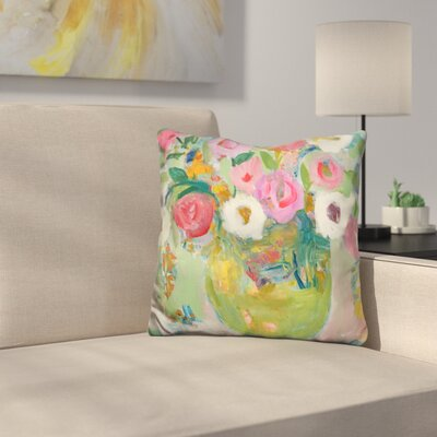 Floral and Botanical Iv Throw Pillow