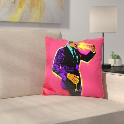 Yayo Dance Throw Pillow Color: Pink