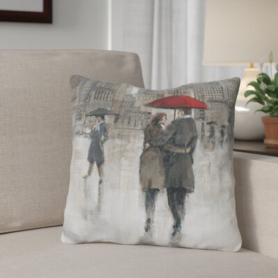 Gillman Rain in The City Throw Pillow