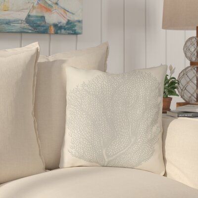 Brookline Coastal II Indoor/Outdoor Throw Pillow Size: 20 H x 20 W x 4 D, Color: Light Blue