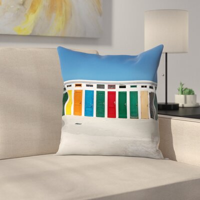 Maja Hrnjak Colours Throw Pillow Size: 18 x 18