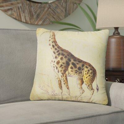 Loren Giraffe Throw Pillow
