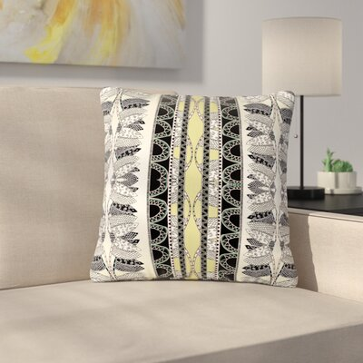 Fernanda Sternieri Oriental Stripes Digital Outdoor Throw Pillow Size: 18 H x 18 W x 5 D