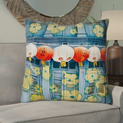 Akini Lanterns in Singapore Euro Pillow