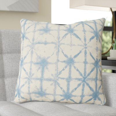 Middleton Throw Pillow Size: 22 H x 22 W x 4 D, Color: Cobalt/Beige
