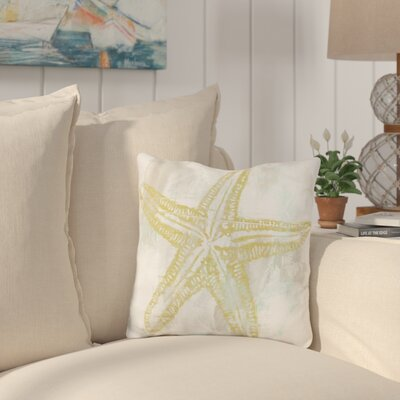 Bucholz Seaside Blockprints Throw Pillow