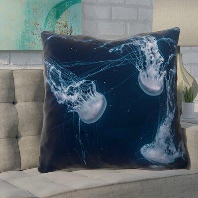 Nathaniel Jellyfish Square Euro Pillow