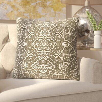 Kalista Throw Pillow Size: 20 H x 20 W x 4 D, Color: Dark Brown