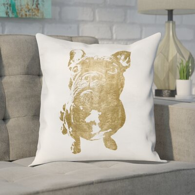 Claudie Frenchie Throw Pillow