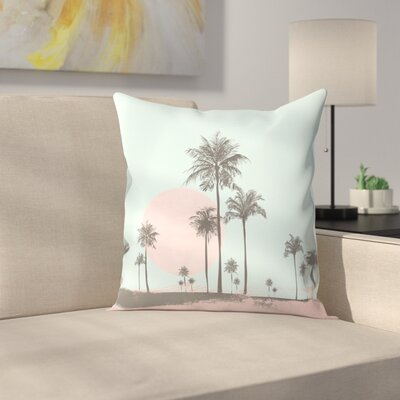 Sun Set Throw Pillow Size: 14 x 14