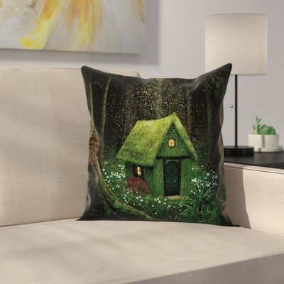 House in the Woods Pillow Cover Size: 18 x 18