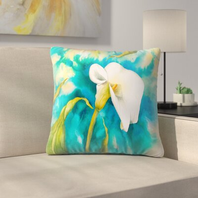 Sunshine Taylor Aglow Indoor/Outdoor Throw Pillow Size: 20 x 20
