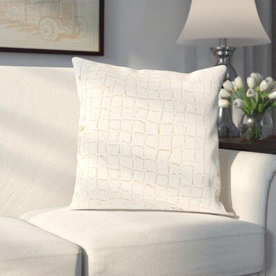 Colona 100% Linen Throw Pillow Cover Color: Neutral