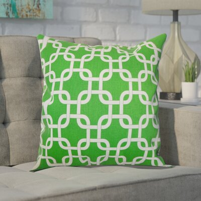 Sessums 100% Cotton Throw Pillow Color: Callie White, Size: 20 H x 20 W