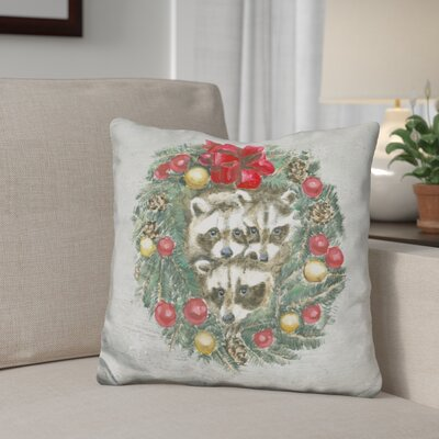 Berkey Christmas Critters Throw Pillow