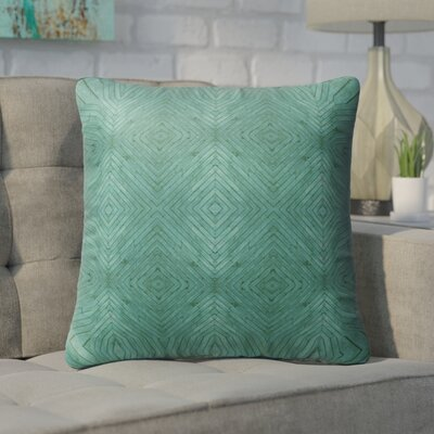 Bruns Wood Indoor/Outdoor Throw Pillow Size: 26 H x 26 W x 6 D