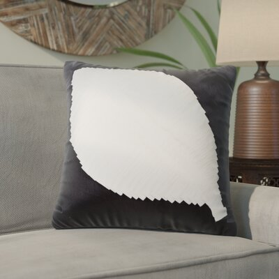 Lynn Harbor Throw Pillow Color: White