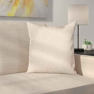 Shabby Flower Motifs Cushion Pillow Cover Size: 24 x 24