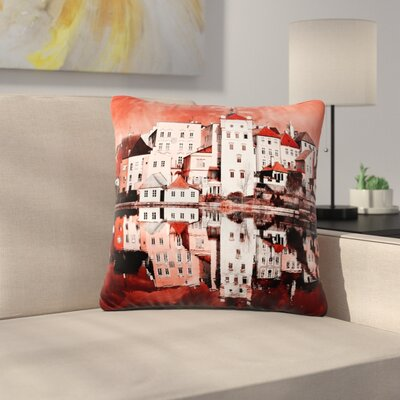 Suzanne Carter Sky at Night Outdoor Throw Pillow Size: 18 H x 18 W x 5 D
