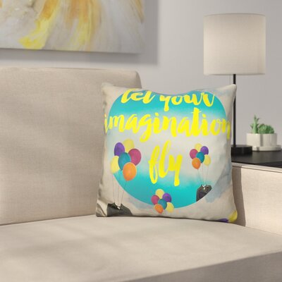 Let Your Imagination Throw Pillow