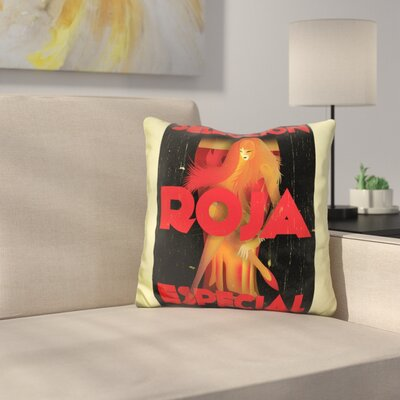 Roja Especial Throw Pillow