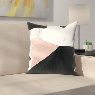 Olimpia Piccoli The Space Between I Throw Pillow Size: 14 x 14