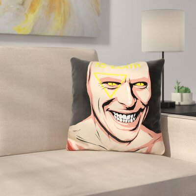 The Man Who Fell to Earth Throw Pillow