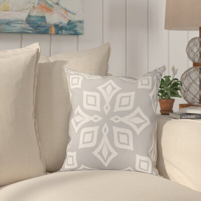 Cedarville Star Geometric Print Throw Pillow Size: 18 H x 18 W, Color: Gray