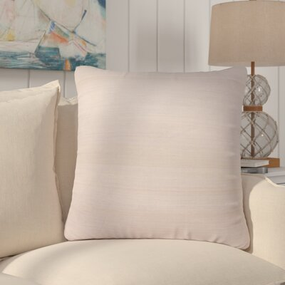Rockwell Solid Silk Throw Pillow Fill Material: Down/Feather