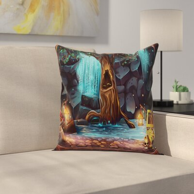 Fantasy Pillow Cover Size: 18 x 18