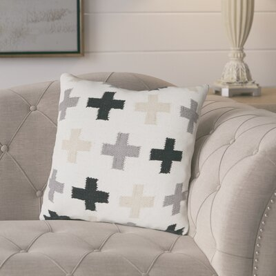 Hua Cotton Throw Pillow
