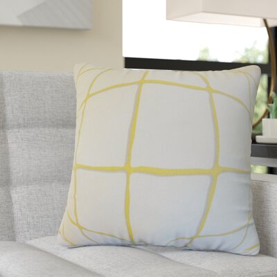 Rittenhouse Cotton Throw Pillow Color: Citrine