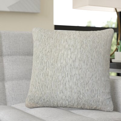 Pierpont Graphic Linen Throw Pillow Color: Gray