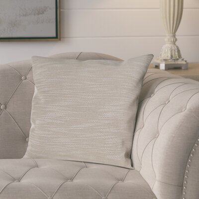 Lyell Pillow Cover Color: Cream