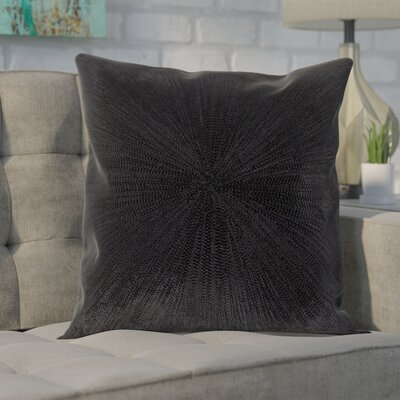 Baran Cotton Throw Pillow Size: 20 H x 20 W x 4 D, Type/Fill: Pillow With Down Insert