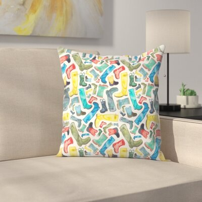 Elena ONeill Wellies Throw Pillow Size: 20 x 20