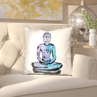 Jarboe Buddha Throw Pillow