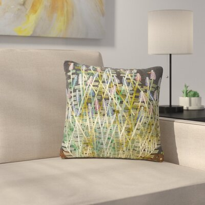 Laura Nicholson Russian Sage Outdoor Throw Pillow Size: 18 H x 18 W x 5 D