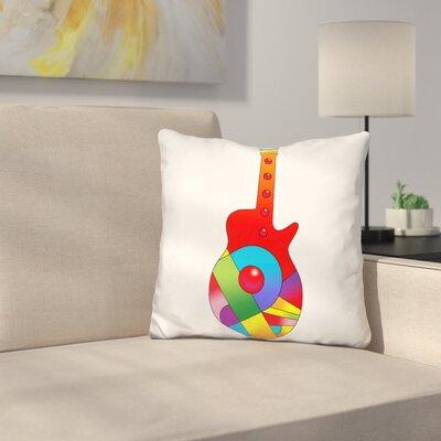 Guitar Ball Throw Pillow