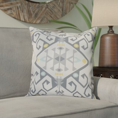 Meetinghouse Outdoor Throw Pillow Size: 18 H x 18 W, Color: Gray