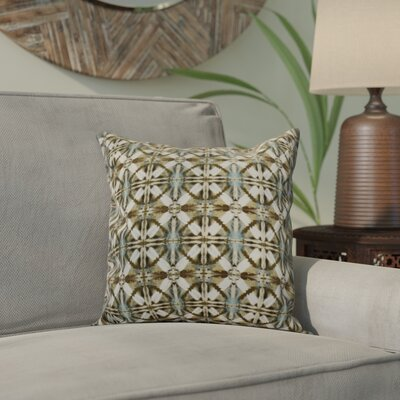 Viet Throw Pillow Size: 26 H x 26 W, Color: Brown