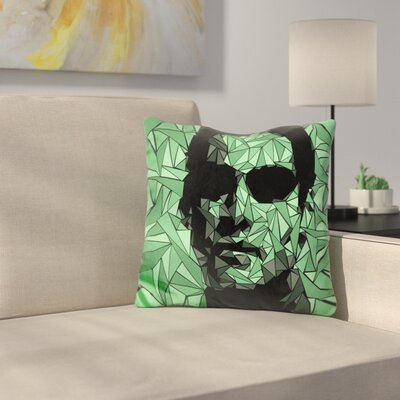 Matrix Neo Throw Pillow