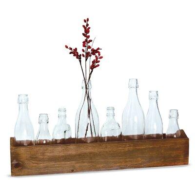 Mango Caddy Crate 9 Piece Table Vase Set 4731007