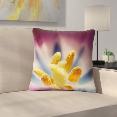 Angie Turner Tulip Outdoor Throw Pillow Size: 16 H x 16 W x 5 D