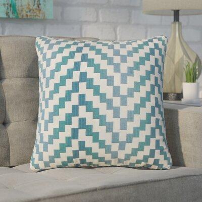 Chabot Geometric Throw Pillow Color: Lagoon