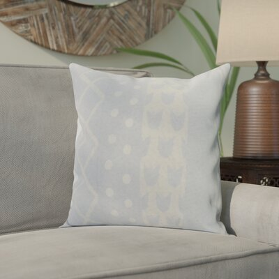 Castleman Decorative Throw Pillow Color: Light Blue, Size: 18 x 18